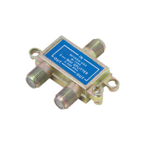 CATV SPLITTERS & COAXIAL CABLES